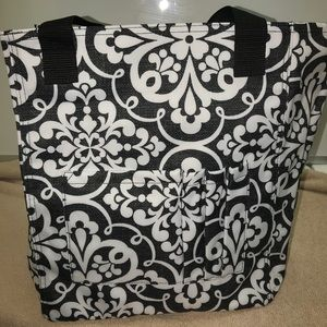 Thirty-One Medallion Medley Tall Organizing Tote